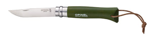 Opinel trekka knife (No. 8 green)