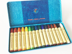 Stockmar stick crayons tin of 16