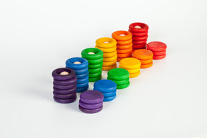 Grapat - Nins, rings and coins rainbow