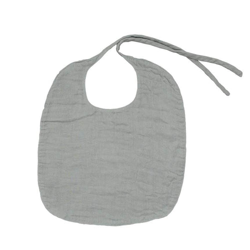 Organic Cotton Bib (Silver Grey) - Numero 74