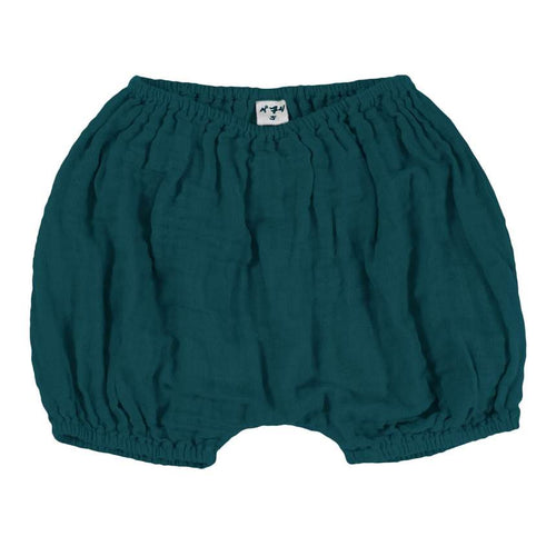 Organic Cotton Bloomers (Teal Blue) - Numero 74
