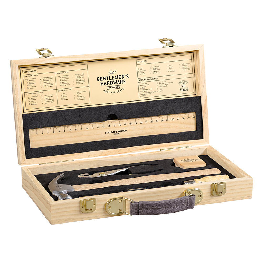 Tool Kit - 16pc set in Wooden Box