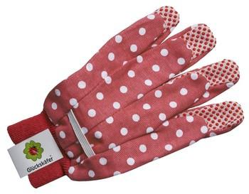 Children's Gardening Polka Dot Gloves