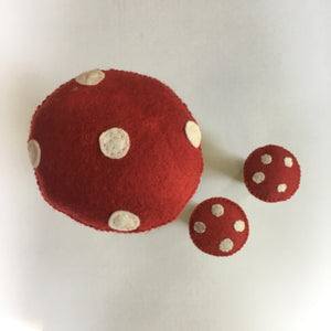 Felt Toadstool - 2 sizes