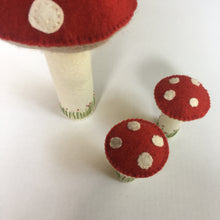 Load image into Gallery viewer, Felt Toadstool - 2 sizes