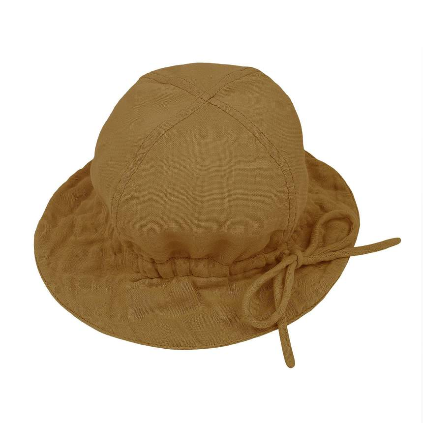 Organic Cotton Sun Hat (Gold) - Numero 74