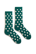 Load image into Gallery viewer, Men's dotty wool cashmere crew socks