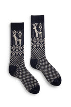 Load image into Gallery viewer, Men's reindeer wool cashmere socks