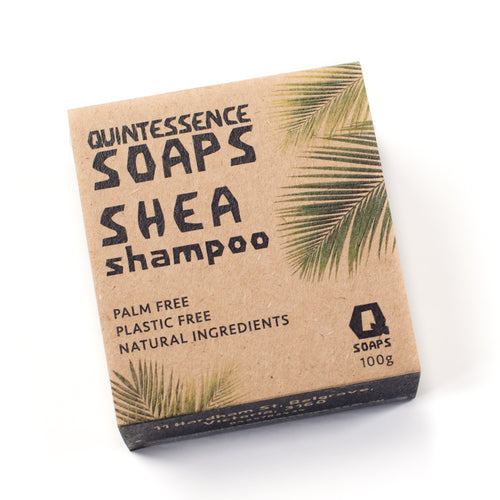 Solid Shampoo Bar - Shea