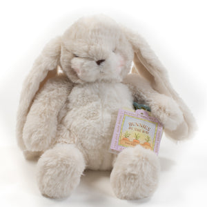 Plush cream bunny