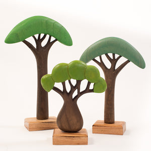 African Wooden Trees - 3 sizes