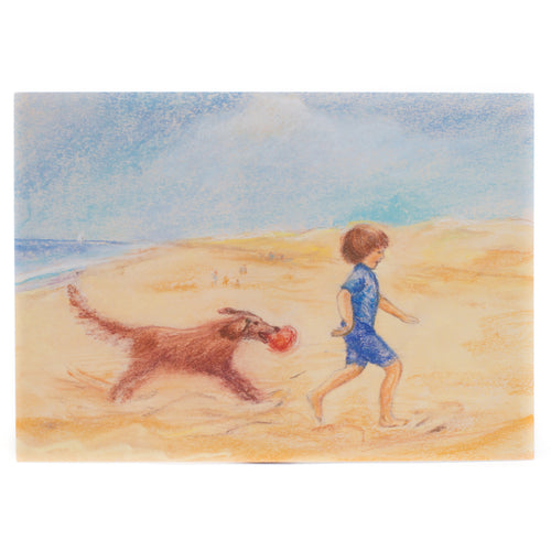 Postcard - Beach play