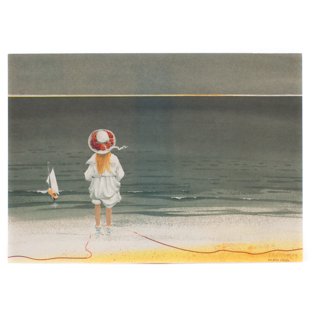 Postcard - At the seaside