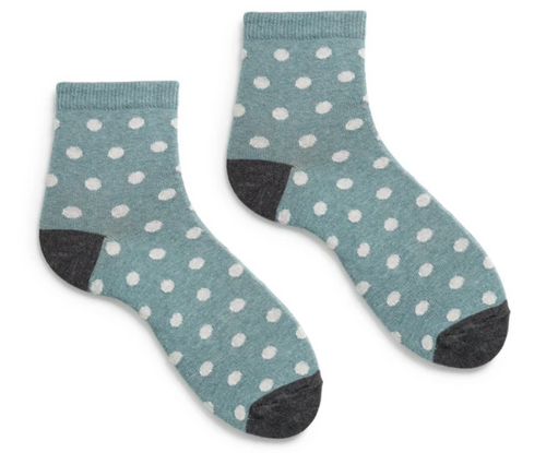 Women's cotton dot socks