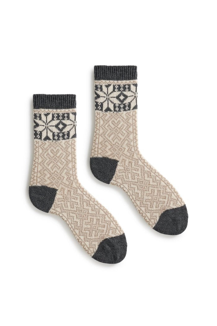 Women's wool cashmere Alpine socks