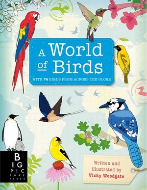 A World of Birds - with 75 birds from across the globe