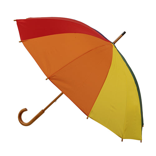 Adult rainbow umbrella