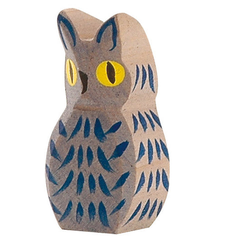 Bird - Owl blue