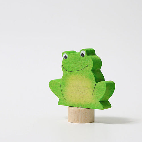 Birthday Deco - Frog Sitting