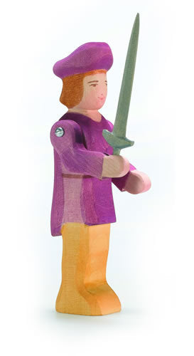 Nobleman with long sword