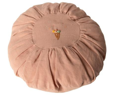 Maileg Cushion- Round, rose