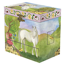 Load image into Gallery viewer, Horse Fairy music box