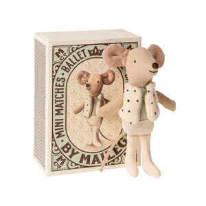 Maileg Dancer (Little Brother) in matchbox