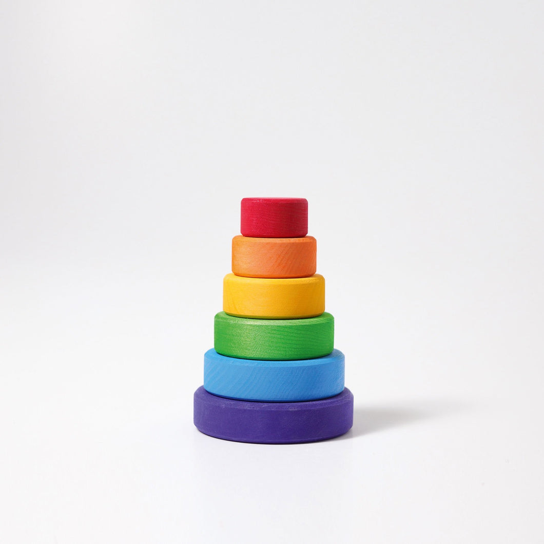 Conical Tower Small - Rainbow