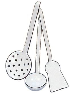 Children's Enamel/Kitchen Utensils
