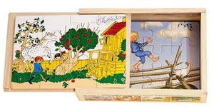 "Boxed puzzle set - Astrid Lindgren ""Pippi Longstocking"""