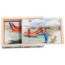 "Plane ""Fly"" boxed puzzle set"
