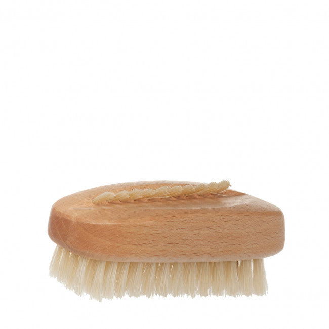 Beechwood oval nail brush