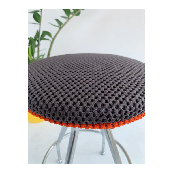Purple and orange stool