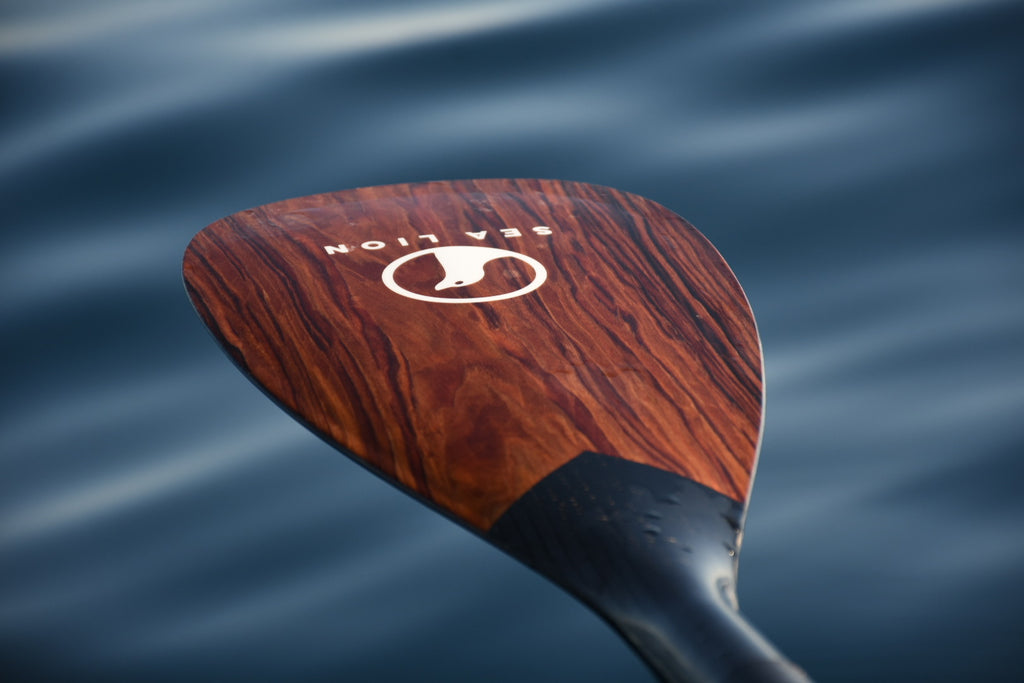 The 3 Piece Carbon Glass Paddle - Smoke Oak
