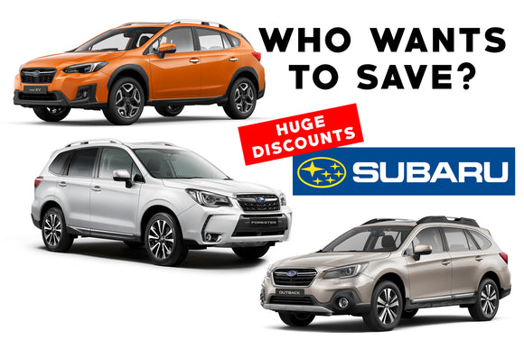 NOW is the time to get a Subaru!