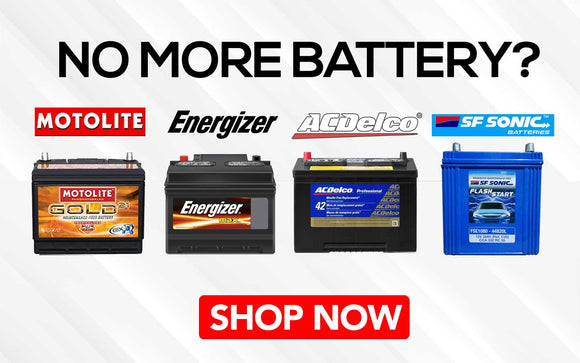 Looking for a new Car Battery. Cash on delivery within Metro Manila and Shipping Nationwide