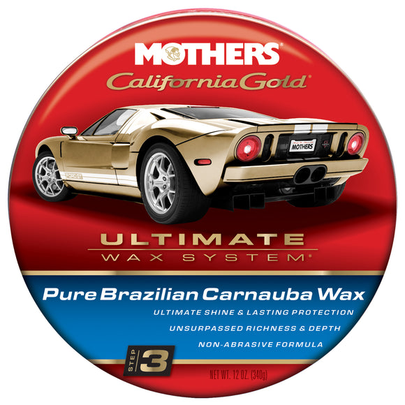 MOTHERS Natural Paste Wax 12oz.