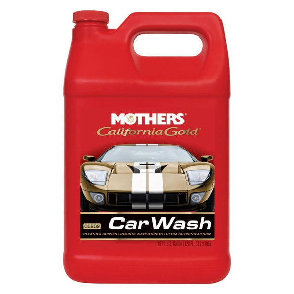 MOTHERS California Gold Car Wash 1gal.