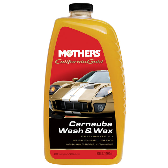 MOTHERS Carnauba Wash & Wax 1gal.