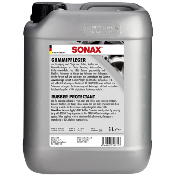 SONAX Rubber protectant