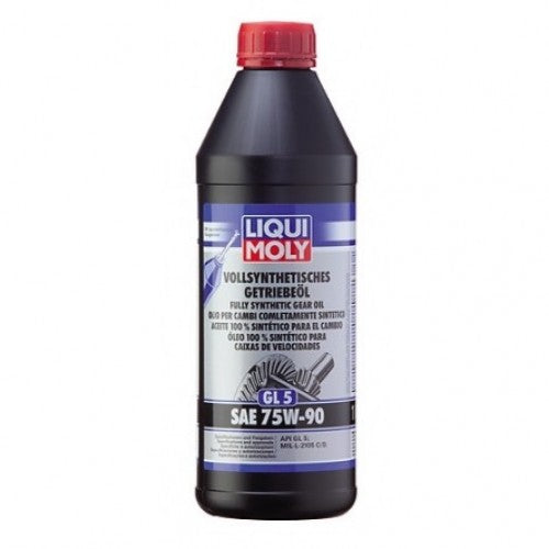 LIQUI MOLY FULLY SYNTHETIC GEAR OIL (GL5) SAE 75W-90 1L