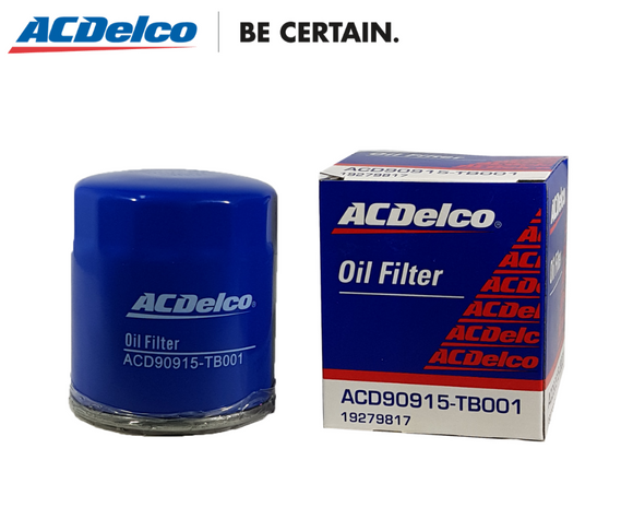 ACDelco Oil Filter Toyota Revo FX GLX 1 GL Gas 7K, Rev° 2.0 VX200 (1RZ-E), 4- runner, Landcruiser '97 Gas, Ray 4, Crown Super Saloon 2.0 (1GFE), Innova Gas (1TR-FE), 2.5 Dsl. (2KD-FTV) , Hi-lux 4x2 G 2.7 Gas (2TR-FE) 2.5 Dsl. (2KD-FTV)