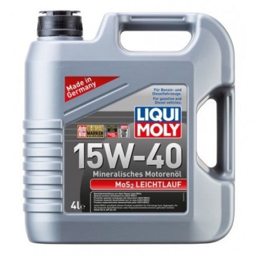 LIQUI MOLY MOS2 LOW-FRICTION 15W-40 4L