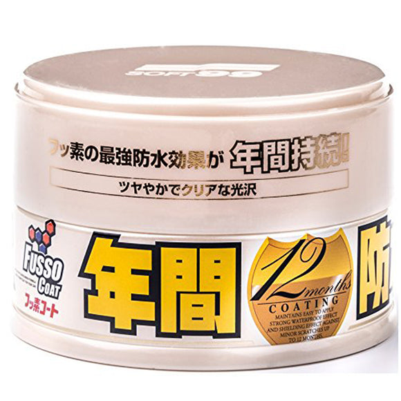 Soft99 Fusso Coat 12 Months Wax L (Light Color) 200g