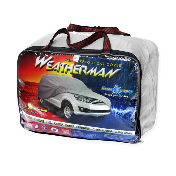 Weatherman Waterproof Car Cover Van