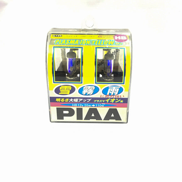 PIAA Plasma Ion Yellow 2500K HB3/4 (PHOTO OF ACTUAL ITEM)