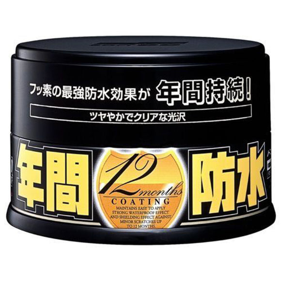 Soft99 Fusso Coat 12 Months Wax D (Dark Color) 200g