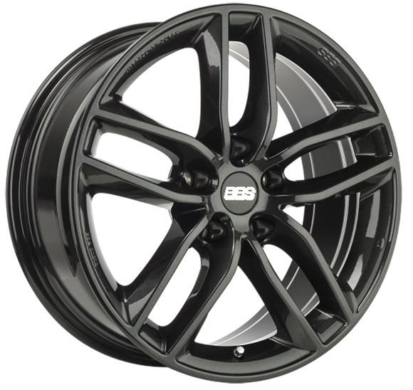 BBS WHEELS (GERMANY) CRYSTAL BLACK 8.5 x 19 (SX)