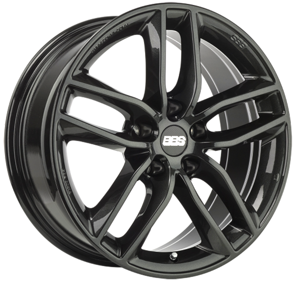 BBS WHEELS (GERMANY) CRYSTAL BLACK 9.0 x 20 (SX)
