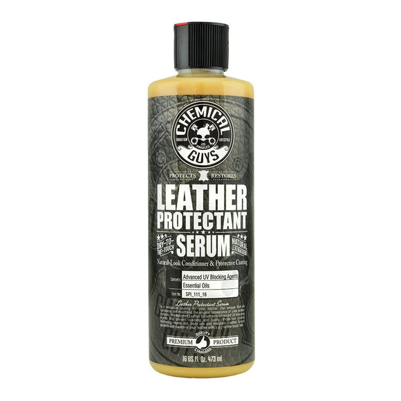 Chemical Guys Vintage Leather Serum Conditioner & Protective Coating 16oz